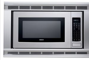 Bosch HMB405 2.1 Cu. Ft. Built-in Microwave Oven with 1,100 Cooking Watts, Multi-Sensor Cooking Modes & 10 Power Levels: Stainless Steel for Sale in Fremont, CA