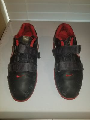 new arrivals 623b1 27d02 Nike Romaleos 2 Weightlifting Shoes Black and Red size 9.5 for Sale in  Calera, OK