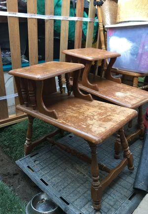 vintage end tables for Sale in Clovis, CA
