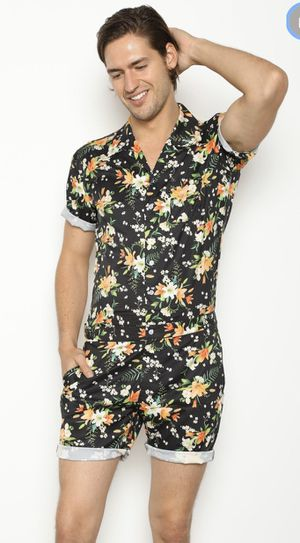 Tropical Black Male Romper - Large for Sale in West Sacramento, CA