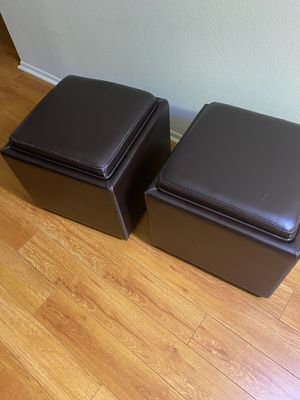 Crate and barrel ottoman for Sale in Los Angeles, CA