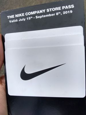 Nike employee store passes for Sale in Portland, OR