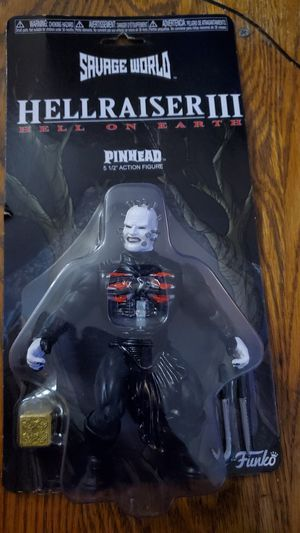 "HELLRAISER lll Pinhead 5 1/2"" Action figure for Sale in Beaver Dam, WI"