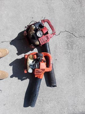 Two leaf blowers for Sale in Douglasville, GA
