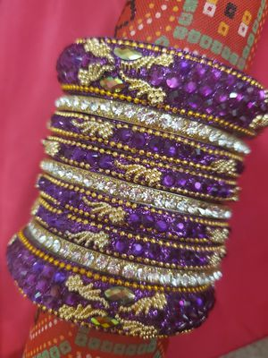 Traditional bollywood Bangles set/bracelets for Sale in Peoria, IL