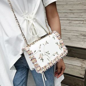 White embroidery bag for Sale in Brooklyn, NY