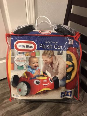 Brand New Little Tikes Cozy Coupe Plush Car for Sale in San Gabriel, CA