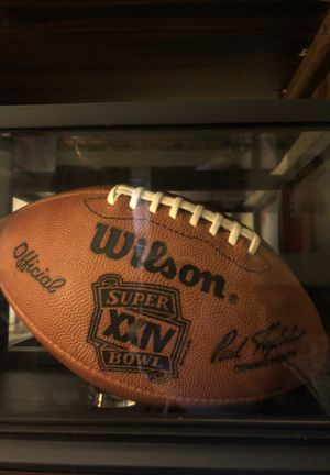 Official super bowl football actually used in super bowl 24 the broncos vs 49ers for Sale in Mechanicsburg, PA