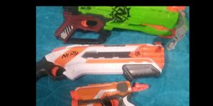 3 nerf guns for 18.00 for Sale in Oakdale, CA