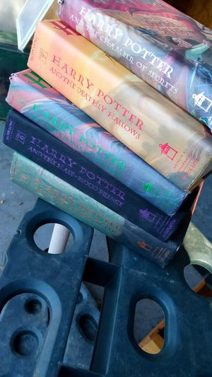 Five Harry Potter Books. All In Perfect Condition. All For $3 for Sale in Lancaster, CA