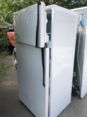 Refrigerator. Ken more and a Roper for Sale in Midlothian, TX