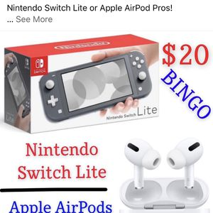 Nintendo Switch Lite or Apple AirPod Pros for Sale in Fontana, CA