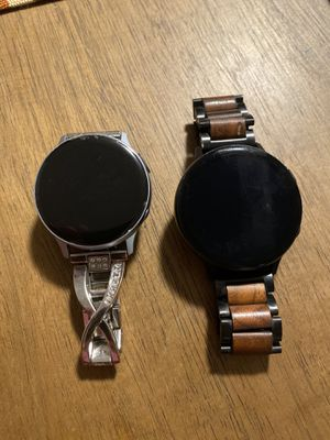 His and hers Samsung Galaxy watch active 2 for Sale in Manchester, CT