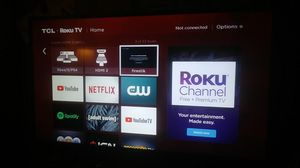 TCL Roku Tv 40in. for Sale in The Bronx, NY