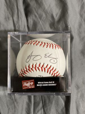 Jacoby Ellsbury signed ball for Sale in Torrington, CT