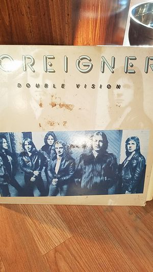 Foreigner Double Vision (Vinyl Record) for Sale in Evansville, IN