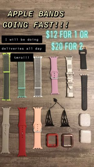 Apple watch straps for Sale in Gardena, CA