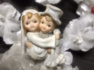 Precious moments wedding cake topper for Sale in Sunnyvale, CA