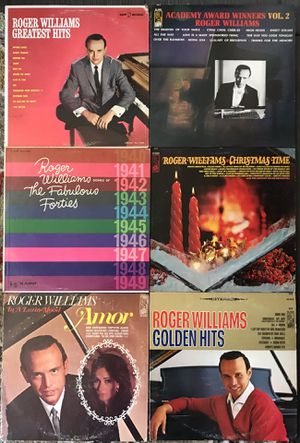 Lot of 6 Rodger Williams Vinyl Record Albums for Sale in Pomona, CA