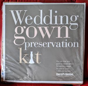 Wedding Gown Preservation Kit for Sale in Cleveland, OH
