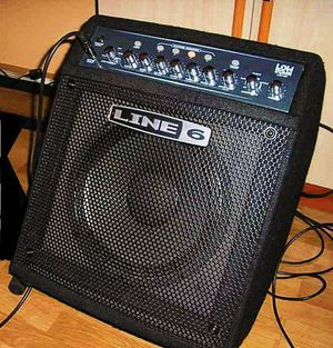 Line 6, LD150 Low Down Bass Guitar Combo Amplifier, Excellent... for Sale in West Los Angeles, CA