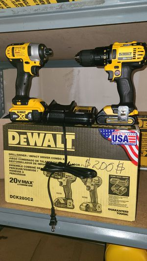 DEWALT XOMBO 20V 200$ FIRM.PRICES NO.LOWER BUYER for Sale in Gardena, CA