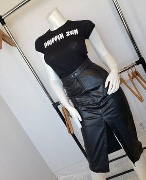Vintage Greg Adam's Leather Skirt for Sale in Las Vegas, NV
