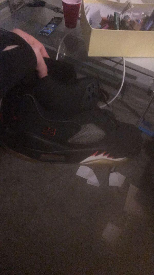 Jordan 5 with box brand new