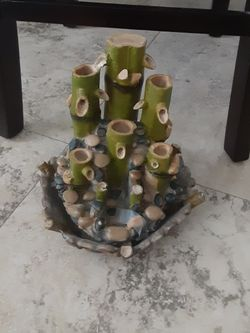 Zen Bamboo Table Top Water Fountain for Sale in Fort Lauderdale,  FL