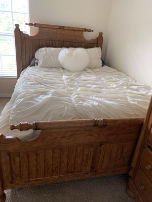 Bed Frame and dressers 4 sale for Sale in Lehigh Acres, FL