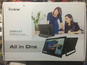 iview All in One touch portable pc for Sale in Fairfield, IA