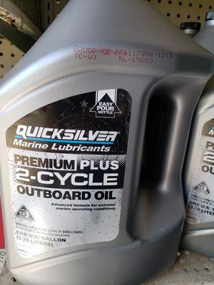 Quicksilver/ Mercury 2 stroke outboard oil for Sale in Bensenville, IL