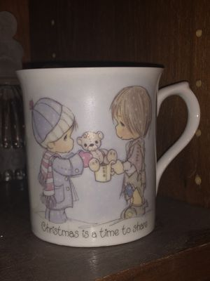 Precious Moments cup mug - vintage 1984 ! 1980's Precious Moments Collectible ! for Sale in Phoenix, AZ