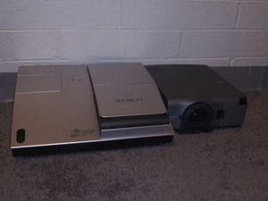 Hitachi CP-A100 3LCD & NEC MultiSync VT440 Projector for Sale in Phoenix, AZ