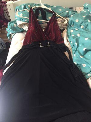 Black and red formal dress for Sale in El Dorado, KS