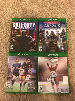 Xbox One Games for Sale in Tampa, FL