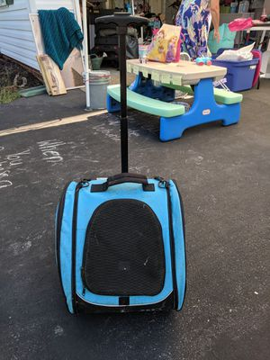 Rolling small animal carrier for Sale in Midlothian, VA