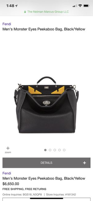 Fendi Peekaboo monster bag. New without box for Sale in Hammond, IN