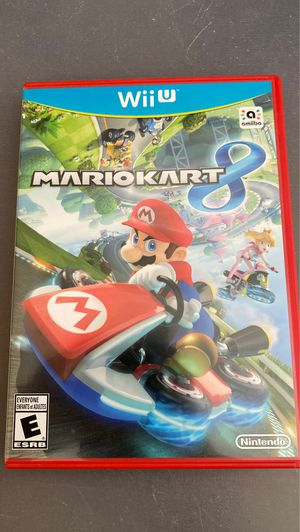 Mario kart 8 nintendo wii u for Sale in Anaheim, CA