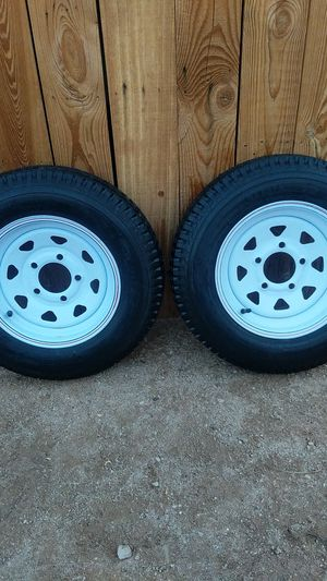 Trailer tires and rims for Sale in ELEVEN MILE, AZ