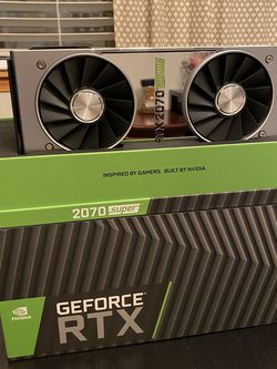 Nvidia GeForce RTX 2070 Super FE for Sale in Kent,  WA