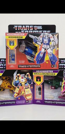 Transformers Headmaster Wave 2 for Sale in Houston,  TX