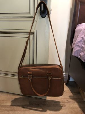 15inch Laptop Carrying Case made from Buffalo leather for Sale in Laguna Niguel, CA