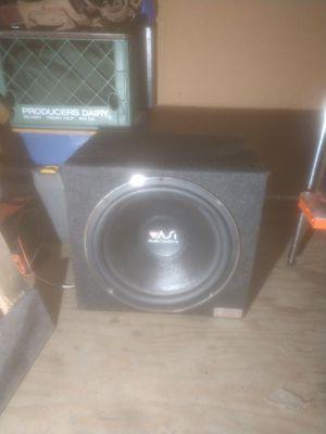 "15"" Audio Solutions Bass Subwoofer for Sale in Santa Cruz, CA"