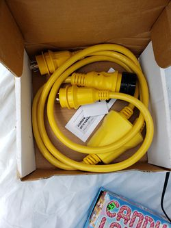 New, reverse y marine shore power adapter for Sale in Owings,  MD