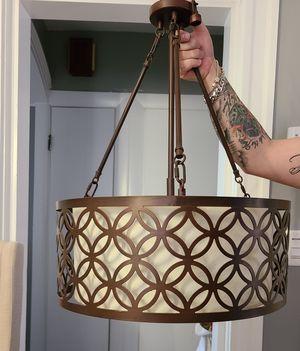 Brown chandelier for Sale in Methuen, MA
