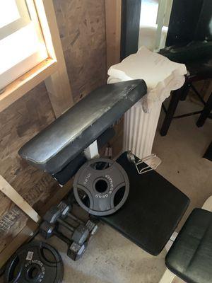 Weight bench for Sale in Manassas, VA