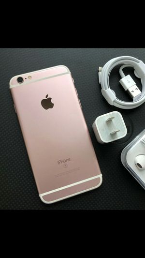 Iphone 6S, 64GB - excellent condition, factory unlocked, includes new box & accessories for Sale in Fort Belvoir, VA