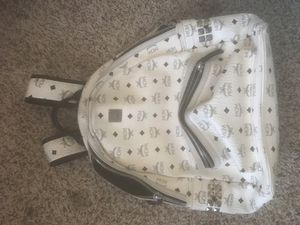 White MCM backpack for Sale in Frisco, TX