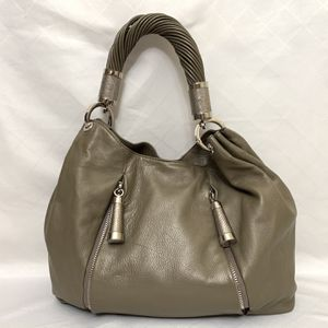 Michael Kors Leather handbag- Original Hobo bag- Gray color Large bag for Sale in Portland, OR